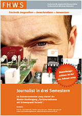 """Journalist in 3 Semestern"""
